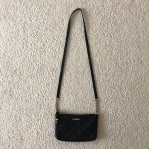 Calvin Klein quilted cross-body purse!